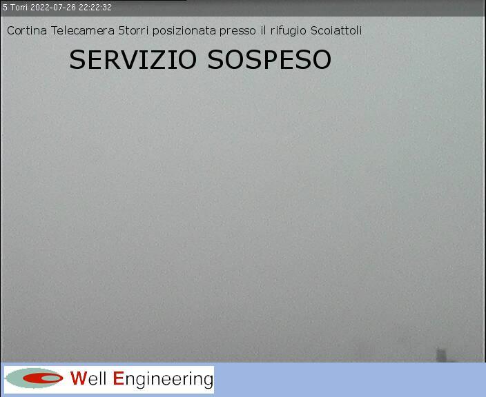 Panorama from Mountain Hut Rifugio Scoiattoli - 2